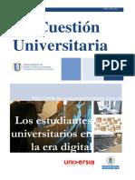 La cuestión universitaria