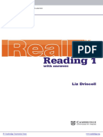 Cambridge English Skills Real Reading Level1 Beginner Book With Answers Frontmatter