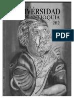 Conversando Con Dios, Antología de Poesía Mística Oriental en Revista Universidad de Antioquia 282