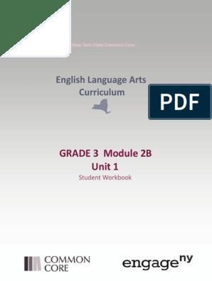 English Language Arts Curriculum: GRADE 3 Module 2B Unit 1