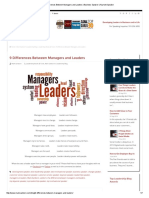 9 Differences Between Managers and Leaders _ Business Speaker _ Keynote Speaker