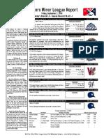 9.2.16 Minor League Report