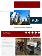 Bali Airport advertising. Bali ad agency