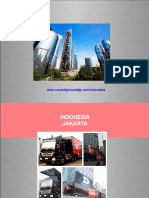 Jakarta Indonesia LED mobile truck advertising