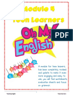 English Module 4 for Teen Learners