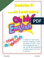 English Module 4 for Teen Learners