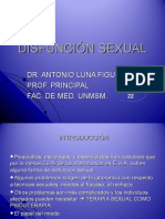 Clase 22 Disfunciã n Sexual Dr. Luna