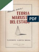 Clodomiro Almeyda - Hacia Una Teoría Marxista Del Estado