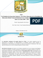 FORMATO PRESENTACION DIAPOSITIVAS DEFENSA TESIS - tesina otros.ppt