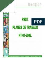 Planes de Trabajo y Nt 01 2008
