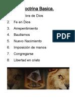 Libro de Doctrina Basica Leon de Juda