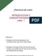 Transferencia de Calor Introduccion y Conceptos Basicos - Parte 1