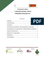Convocatoria y Bases II Concurso de Periodismo Ciudadano