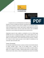 Semana 4B El Discurso Oral PDF