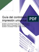 Brother DCP-J152W - Guía Del Controlador de Impresión Universal