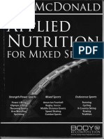 Lyle McDonald - Applied Nutrition for Mixed Sports