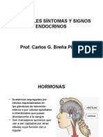 PRINCIPALES SÍNTOMAS Y SIGNOS ENDOCRINOS