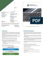 Hoja Informativa Simple Reciclaje Electronico