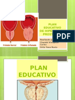 PLAN EDUCATIVO hiperplasia prostatico.pptx