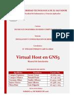 Manual de Instalacion Host Virtual en GNS3