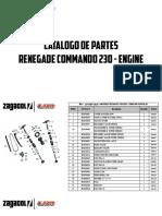 Zagacol Catalogo de Partes Um Renegade Commando Engine