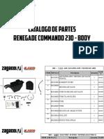 Zagacol Catalogo de Partes Um Renegade Commando Body