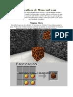Todos Los Crafteos de Minecraft 1