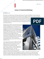 Tracking Energy Efficiency in Commercial Buildings