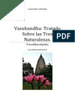 Vasubandhu Tratado Sobre Las Tres Natura