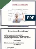 4 Ecuaciones e Inecuaciones Cuadraticas 2016