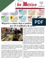NOTICIAS REGRESO A CLASES