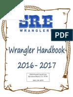 sre student handbook 16-17