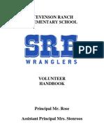 stevenson ranch volunteer handbook-english