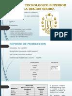 Reporte de Producción (Equipo#5)