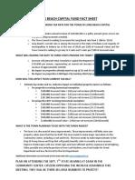 Fact Sheet on Raising Capital Improvement Funding in LB