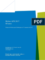 Bolsas AFS 2017