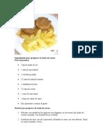 Ingredientes Para Preparar El Asado de Carne