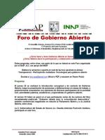 Participa en El Foro Gobierno Abierto en Hermosillo 22 y 23 Septiembre 2016 ISAP INAP