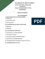 Cad Cam Lab Manual
