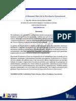 04. La Confiabilidad Humana Clave de La Excelencia Operacional_PEP 2012