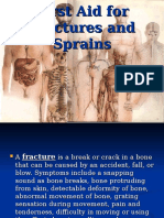 First Aid for Fractures and Sprains & Transport by Archel Antonio
