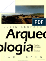 Arqueologia Teoria Metodos Practica Colin - Libro