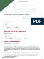 Beneficios Del Pepino - Mercola