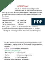 Fisiologia - Hormonas.