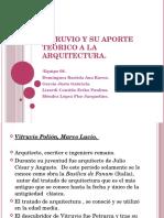 Vituvio y su aportación a la arquitectura