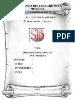 Medicina y lenguaje 1.docx