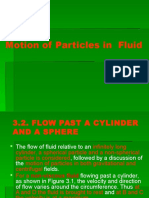 Motion of Particles in Fluid