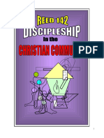 Discipleship in the Christian Community (REED142) Handouts