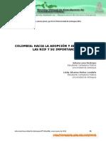 LA ADOPCIÓN Y APLICACIÓN NIIF.pdf