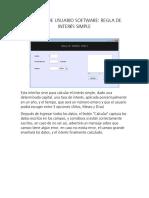 Manual de Usuario Interes Simple